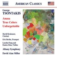 poster for George Tsontakis: Anasa - True Colors - Unforgettable