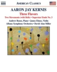 poster for Aaron Jay Kernis: Three Flavors