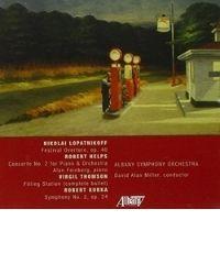 poster for Robert Kurka - Symphony No. 2 - Albany Symphony