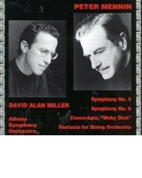 poster for Peter Mennin - Symphony No. 5 - Symphony No. 6