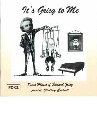 poster for It's Grieg to Me - Findlay Cockrell, Pianist