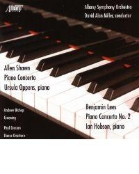 poster for Benjamin Lees - Piano Concerto No. 2 - Hobson, Piano